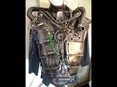 robot costume - hoses, gears, etc Robot Costumes, Family Halloween Costumes, Cosplay Ideas, Costume Ideas, Cyborg Costume, Pirate Fairy, Art Themes, Robots, Steampunk