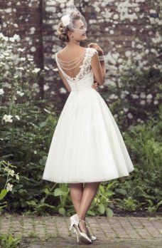 Short wedding dresses collections 36
