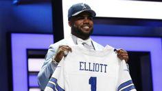 4d8f5a11e BN Style  Ezekiel Elliott wears a Cropped Shirt for an. BN Style  Ezekiel  Elliott wears a Cropped Shirt…