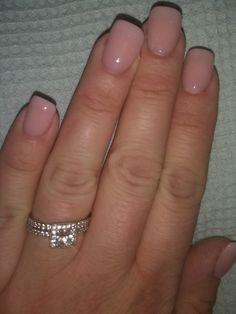 Natural dip poder nails
