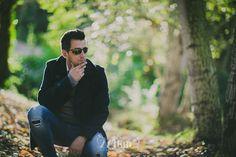 Sesión de fotos de retrato en exterior en el bosque en otoño en Rubí, Sesión de…