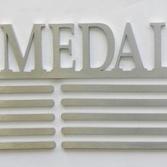 My Medals. My Story.  Stainless Steel extra large Medal hanger.  SA Medal Hangers - Premier Medal Hanger designers | Hello Pretty. Buy design.