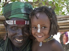 Africa | Smiles from the Erbore tribe from the Omo Valley, Ethiopia | © Mario Jorge Lopes