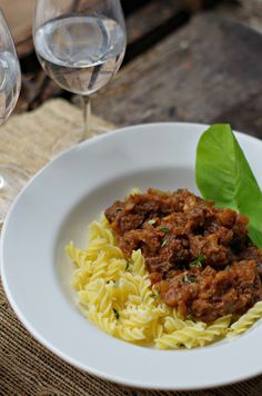 A delicious Slovenian Beef Goulash recipe that is slow cooked on low heat to make a very flavorful comfort food stick-to-your-bones fall kind of dish (Goveji Golaž)