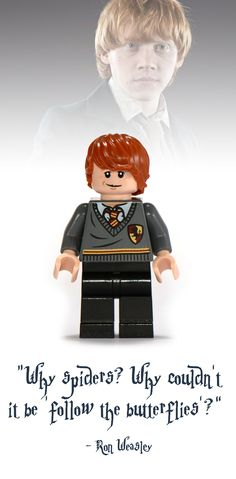 Ron Weasley Lego Minifigure - Harry Potter Collectibles