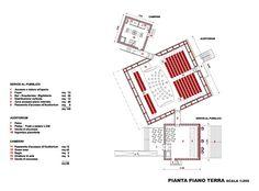 Drawings - Auditorium del Parco - Rpf
