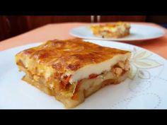 Εύκολο Ογκρατέν με πατάτες κοτόπουλο και κρέμα!!! - YouTube Cookbook Recipes, Baking Recipes, Good Food, Yummy Food, Delicious Recipes, Greek Recipes, Lasagna, Potatoes, Chicken