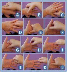 Automassage des mains