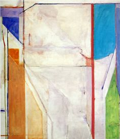 Image detail for -richard diebenkorn style color field painting genre abstract painting ...