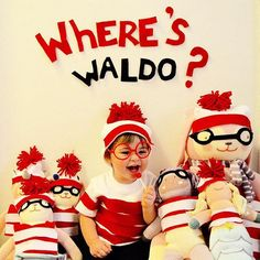 Contest Entry: Where's my little Waldo? #blablahalloween15