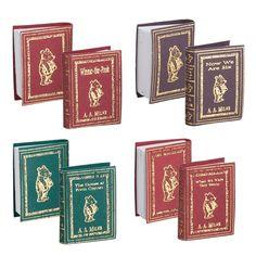 4-Pc. Winnie the Pooh Series Book Set (A.A. Milne)