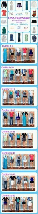 Cruise outfits!