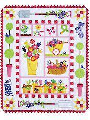 Garden Quilt Pattern-$29.99 (someday...)
