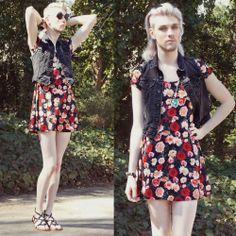 Elliot Alexzander, a gender fluid fashion blogger - ugh so much style envy