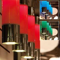 EGLO Fosforo 4 Modern Chrome RGB LED Pendant Kitchen Ceiling Light Fitting Close Up RGB
