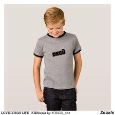 LOVE♡DEGU LIFE KIDSwear Tシャツ
