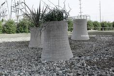 Design Bertrand Jayr /// Pots de fleurs NUCLEAR PLANT