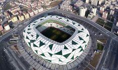 Mega Engenharia: Arena Konya - Turquia