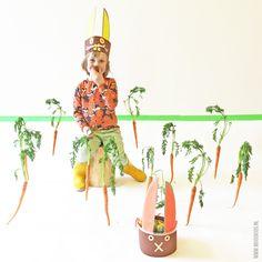 paashaas mandje maken, paasmandje maken, pasen diy Crafts For Kids, Princess Zelda, Seasons, Cowgirls, Christmas Ornaments, Holiday Decor, Character, Crafts For Children, Kids Arts And Crafts