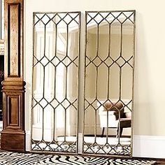 out of old glass closet doors