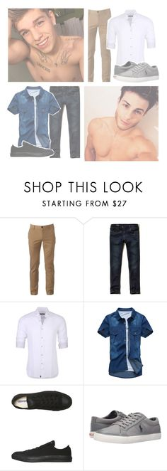 """""""~ OOTD ~ Judah & Sage ~"""" by pr-in-ce-ss-es ❤ liked on Polyvore featuring Odette, Urban Pipeline, Hollister Co., Stone Rose, Converse, Polo Ralph Lauren and littlekittenootd"""