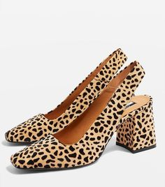 Topshop Gainor Slingback Shoes