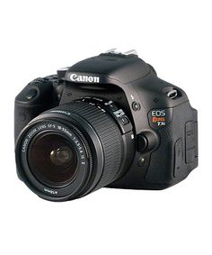 Canon Rebel T3i: This was my first DSLR and I'm still LOVING it. Great price at #zulily, but only for one more day!