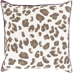Found it at Wayfair - Leapard Throw Pillow