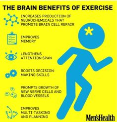 The Brain Benefits Of Exercise - This is exactly why I have the goal of running at least 3 times in the morning each week. You hear me, Suite 23?