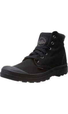 Palladium Men's Pampa Hi Cuff Combat Boot, Black, 9.5 M US Best Price