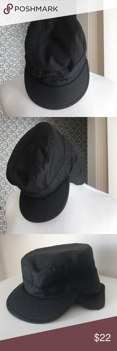 Nwot combat hat size 7 1/4 all black Never worn combat hat size 7 1/4 all black with a soft material around the neck Accessories Hats