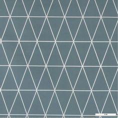 861485 Wachstuch Staubblau Grafisch Muster
