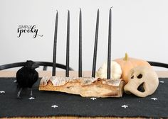 Candelabra - 25 Fall DIYs for the Home