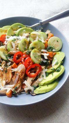 PicsArt_09-21-02.31.34 Picsart, Cobb Salad, Side Dishes, 21st, Chicken, Food, Essen, Meals, Yemek