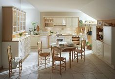 Kitchen Design, White Theme French Country Kitchen: French Kitchen by Mobalpa
