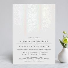 """""""Sketched Bouquet"""" - Rustic Gloss-press™ Wedding Invitation in Ivory by Phrosne Ras. Foil Wedding Invitations, Invites, Different Wedding Ideas, Wedding Stationery Inspiration, Reception Card, Timeless Wedding, Celebrity Weddings, Floral Wedding, Wedding Planning"""