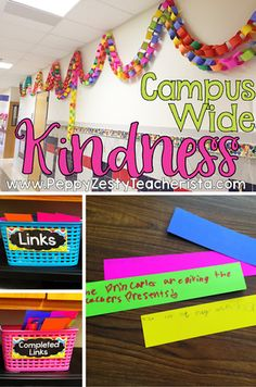 This classroom theme is a great way to promote and talk about kindness in the classroom!