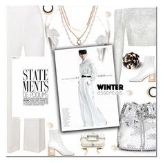 """White for Winter!!!"" by sweta-gupta ❤ liked on Polyvore featuring Roland Mouret, Vera Bradley, Ports 1961, STELLA McCARTNEY, Marni, white and winterwhite"