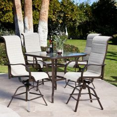 Del Rey Balcony Height Dining Set Coral Coast,http://www.amazon