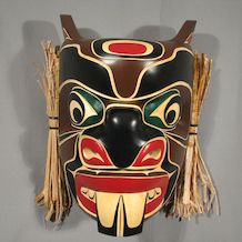 Beaver Mask by kwakwaka'wakw