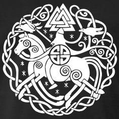 Community about Norse Mythology, Asatrú and Vikings. Viking Symbols And Meanings, Magic Symbols, Ancient Symbols, Norse Tattoo, Viking Tattoos, Art Scandinave, Art Viking, Art Ancien, Theme Tattoo