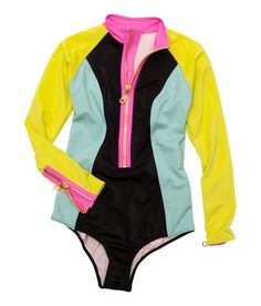 Love this 80's inspired Wet Suit! Perfect for #PaddleBoarding!