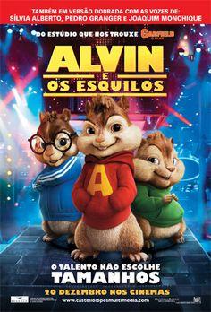Alvin e os Esquilos.