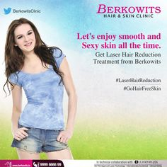 #LaserHairReduction helps you to be free from unwanted hair and let you enjoy smooth and sexy #skin all the time.