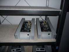 Back-panel amplifiers ready to be installed at MSMc/s1 active-models.