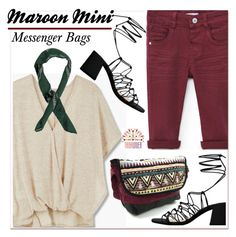 """""""TRIBALOVER"""" by paculi ❤ liked on Polyvore featuring MANGO, Boohoo and tribalover"""