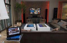 Smart Home Control and Media Center