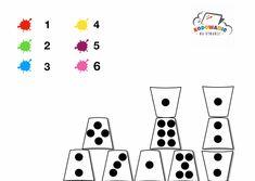 Kubeczkowa matematyka ~ Kodowanie na dywanie Playing Cards, App, Education, Games, School, Google Drive, Preschool, Playing Card Games, Apps