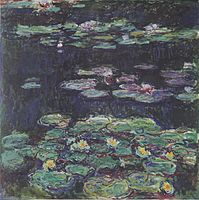 Claude Monet ~ Water Lilies, Giverny. Metropolitan Museum Of Art New York.