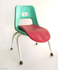 Wary Meyers....what a fun and quirky chair, would love to have it in my house!